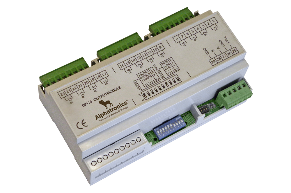 CP-176 – Output Module Voor Toegangscontroller