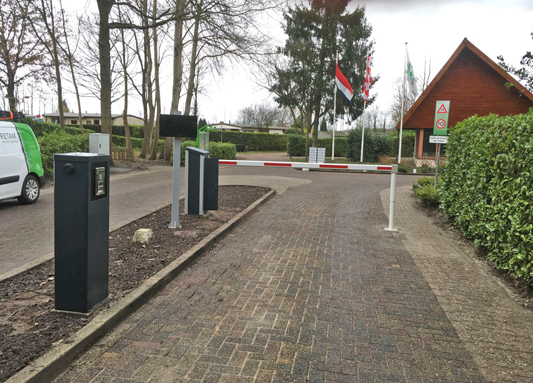 Slagboom Smart-One Caravanpark Hoeven